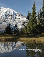 Washington State Economic Climate Study