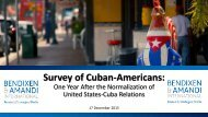 Survey of Cuban-Americans