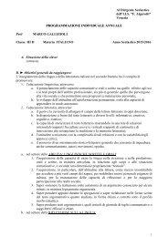 gallizioli - IIS Francesco Algarotti