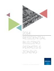 2014 RESIDENTIAL BUILDING PERMITS & ZONING