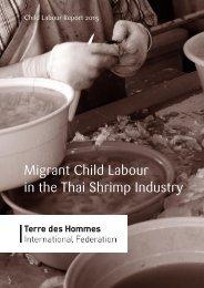 Migrant Child Labour in the Thai Shrimp Industry