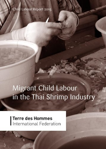 Migrant Child Labour in the Thai Shrimp Industry
