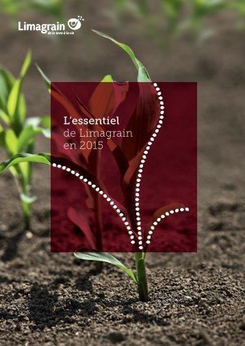 L'essentiel de Limagrain en 2015