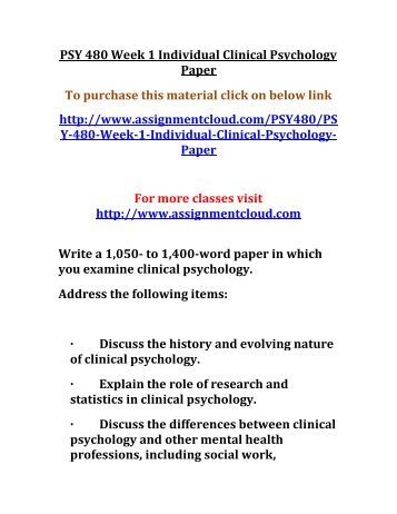 Diverse nature of psychology paper