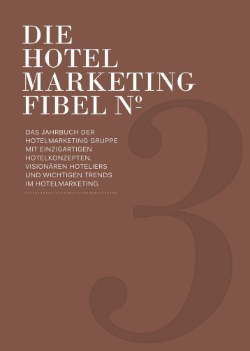 HOTELMARKETING FIBEL No.3