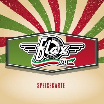 Flax Italy Dornbirn Speisekarte