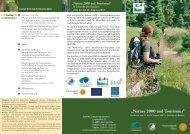 Natura 2000 und Tourismus