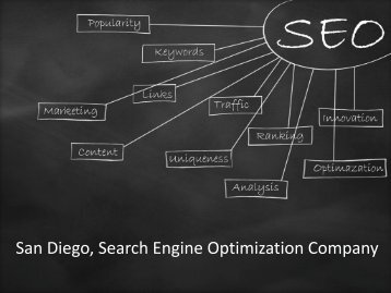 San Diego Search Engine Optimization Company