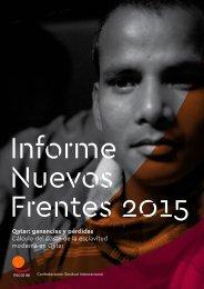 Informe Nuevos Frentes 2015