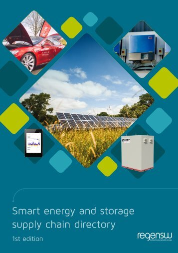 Smart energy and storage supply chain directory