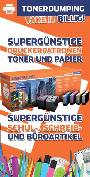 TONERDUMPING Österreich Katalog