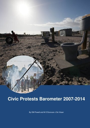 Civic Protests Barometer 2007-2014