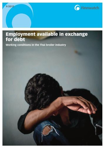 Employment available in exchange for debt