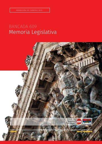 Memoria Legislativa