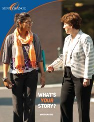 SUNY Orange 2016 Viewbook