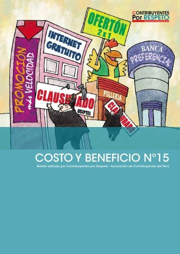 COSTO Y BENEFICIO Nº15