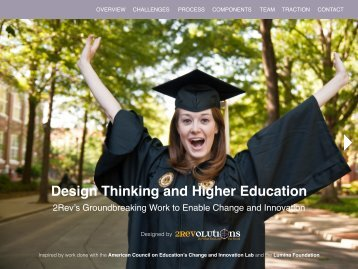 Design Thinking and Higher Education