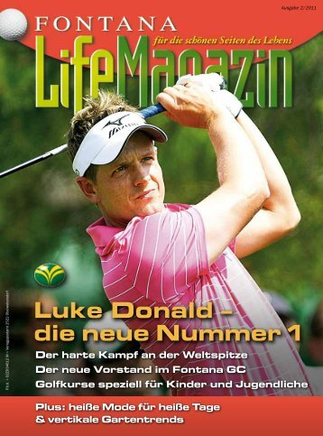 Ausgabe 02/2011 - Golfclub Fontana