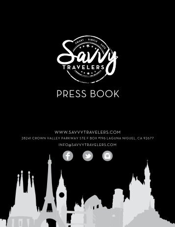 Savvy Press Book