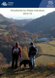 Woodlands for Wales Indicators 2014-15