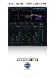 Blue Cat's MB-7 Mixer User Manual