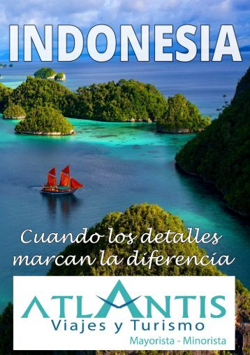Indonesia - Atlantis Viajes y Turismo