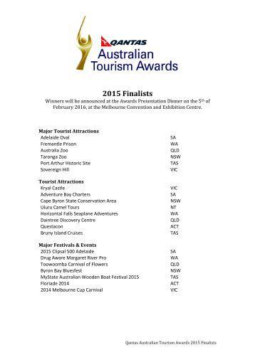 2015 Finalists
