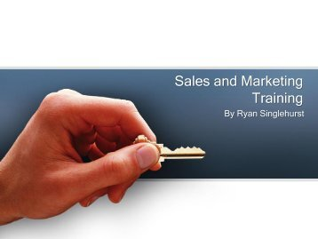 Reach Your Business Goals in a Professional Way With Ryan Singlehurst Sales Training