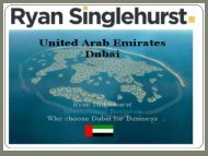 Learn the art of Sales with Ryan Singlehurst Dubai