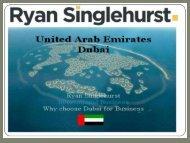 Learn the art of Sales with Ryan Singlehurst Dubai