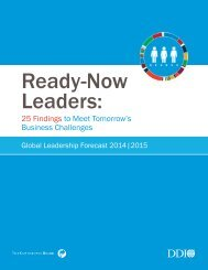 Ready-Now Leaders