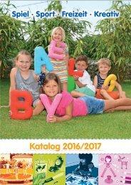 WOLKE SPIELE KATALOG 2016/2017