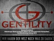 GENTILITY - Wir haben der Welt noch was zu sagen