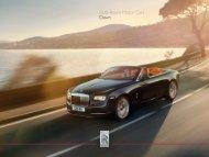 Rolls-Royce Motor Cars Dawn
