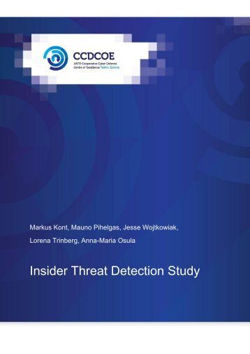 Insider Threat Detection Study