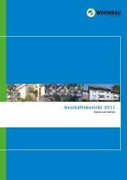 Geschäftsbericht 2011 - Wohnbau Lemgo eG