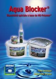 Etanchéité spéciale à base de Ms-Polymer®
