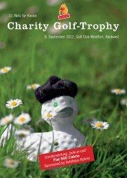 Charity Golf-Trophy - Wirtschaftszeit