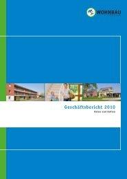 Geschäftsbericht 2010 - Wohnbau Lemgo eG