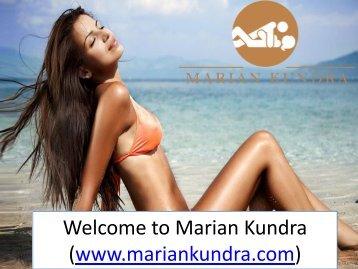 Welcome to Marian Kundra (www.mariankundra.com)