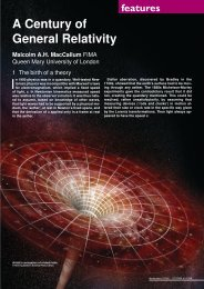 A Century of General Relativity