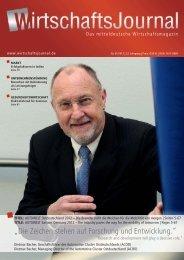 """""""Die Zeichen stehen auf Forschung und ... - Wirtschaftsjournal"""