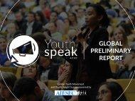 GLOBAL PRELIMINARY REPORT