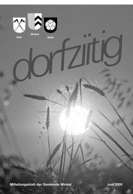 Notizbrett - im Winkler (W)Internet-Portal!