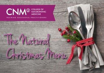 The Natural Christmas Menu