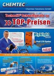 Technolit® Schweißgeräte zu