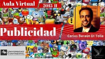 Aula virtual de Publicidad 2015 - II