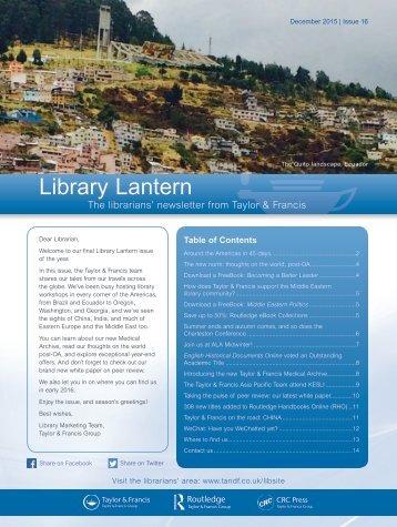 Library Lantern