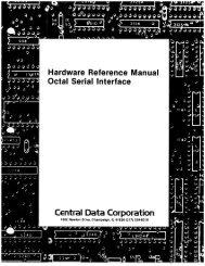 Page 1 JQQQQQ ' Hardware Reference Manual Octal Serial ...