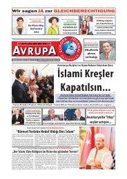 EUROPA JOURNAL - HABER AVRUPA DEZEMBER 2015